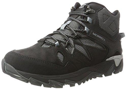 Merrell All Out Blaze 2 Mid Gtx, Chaussures de Randonnée Hautes Homme, Noir (Black), 44.5 EU