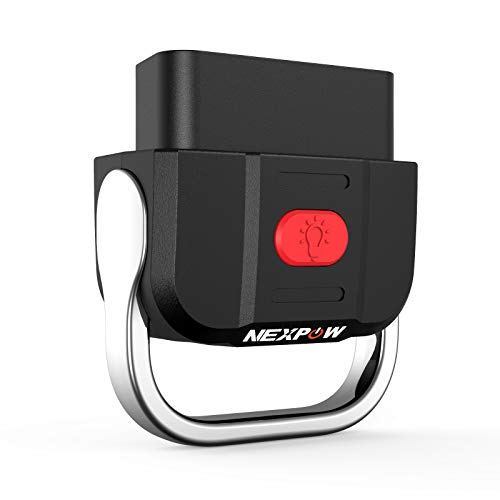 NEXPOW OBD2 Scanner Bluetooth 5.0, Car Diagnostic Scan Tool Check Engine Code Reader for Android & iPhone- Compatible with Torque and Car Scanner