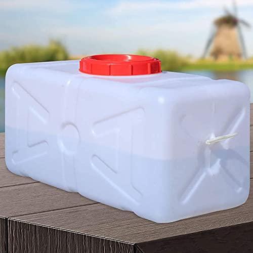 WWJQ Contenedores De Agua Almacenamiento Potable de Seguridad, Bidon Recipiente de Almacenamiento de Agua Horizontal de Larga Vida, Beber De Emergencia 1PCS
