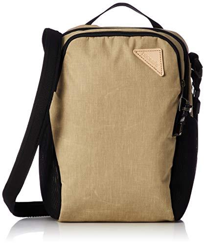 Pacsafe Vibe 200 Unisex-Erwachsene Anti-Theft Compact Travel Bag, Diebstahlschutz Umhängetasche, Sand/Coyote