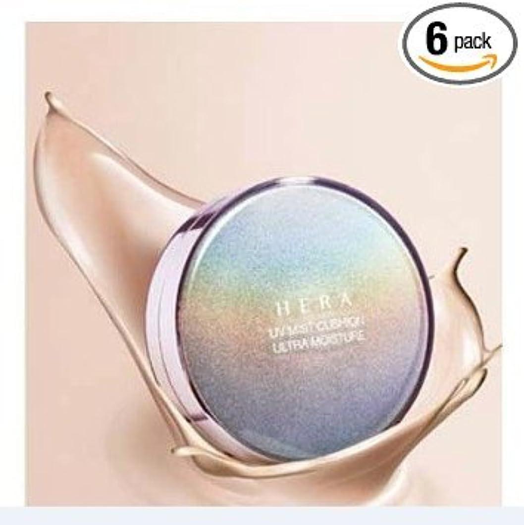 曲散歩に行く溶接HERA UV MIST CUSHION ULTRA MOISTURE (SPF34/PA++) 21 Cool Vanilla by Amore Pacific [並行輸入品]