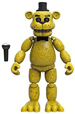 """Five Nights at Freddy's Articulated Golden Freddy Action Figure, 5"""""""