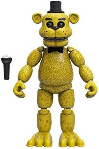 Funko Five Nights at Mesa Mall Freddy's F Articulated Freddy Save money Action Golden