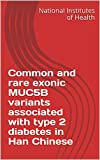 Common and rare exonic MUC5B variants associated with type 2 diabetes in Han Chinese