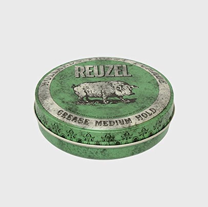 セラーペインティング運命的なルーゾー ポマード ミディアムホールド グリーン Large(340g)