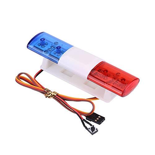 Luci Polizia, 7 modalità Lampeggianti Luce LED della Auto Polizia Analogica Sistema di Illuminazione per Veicolo Gestione degli Incidenti