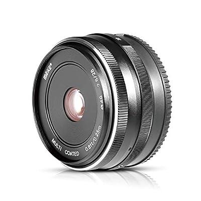 Meike 28mm f2.8 Fixed Manual Focus Lens fit Fujifilm X Mount Mirrorless APS-C Camera X-Pro2 X-E3 X-T1 X-T2 X-T3 X-T4 X-T10 X-T20 X-A2 X-E2 X-T100 X-E1 X30 X70 X-M1 X-A1 XPro1,etc by Meike