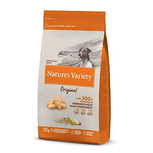 Nature's Variety Original - Pienso para perros adultos mini con pollo deshuesado 1,5 Kg
