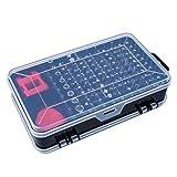Cosye Juego de Destornilladores Multiuso de 112 Piezas Pinzas para reparación de teléfonos móviles Desmontar Piezas Juego de Herramientas de reemplazo