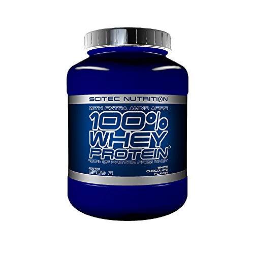 Scitec Nutrition 100% Whey Protein aminoácidos