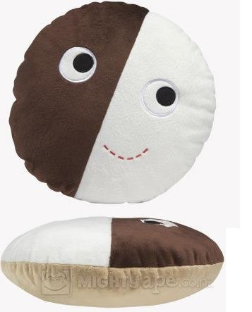 Kidrobot - Peluche 30 cm / 10-Inch Plush Yummy Cookie B&W Heidi Kenney