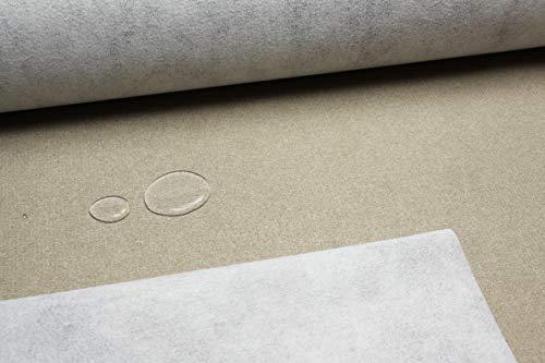 Escalano Möbelstoff Wasserfest Bezugsstoff Polsterstoff für Stuhl Eckbank Sofa Hussen Stoff (27 Farben) (Wüste/Desert-Br.148cm)
