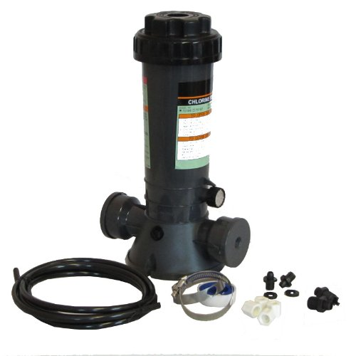 Automatic Chlorinator for Above Ground and In-Ground Pools Off-Line 4.2 lbs