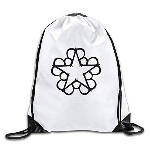 Etryrt Prämie Turnbeutel,Sporttaschen, Logon 8 Black Veil Brides Fashion Drawstring Bags One Size