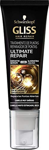 Schwarzkopf Gliss - Reparador de puntas Ultimate Repair, 2 unidades - 50 ml