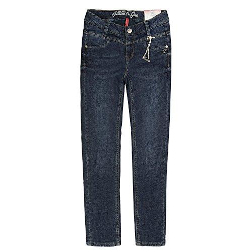 Lemmi Mädchen Jeanshose Hose Jeans Girls Skinny Slim, Blau (Blue Denim 0013), 116