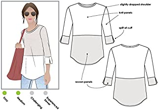 Style Arc Sewing Pattern - Annika Top (Sizes 18-30) - Click for Other Sizes Available