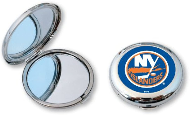 New York Islanders Ladies Compact Mirror w  Floral Design