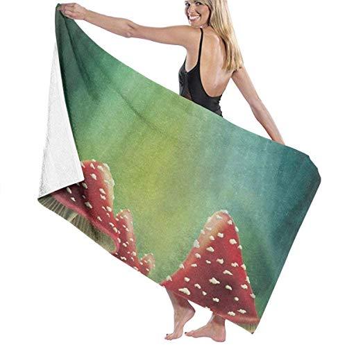 Zhung Ree - Toalla de baño para piscina, toalla de playa, secado rápido, toalla de baño, ducha infantil, manta ultra suave, tela de viaje para barco de 81,2 x 132,8 cm