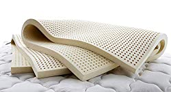 The Vytex 100% natural latex mattress topper is virtually allergy free.