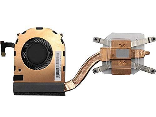 Nuevo reemplazo del Ventilador de refrigeración y disipador de Calor de la CPU del Ordenador portátil para Lenovo Thinkpad X1 Yoga 1st Gen X1 Carbon 4th Gen 00JT800 01YT252 01AW976 Nuevo