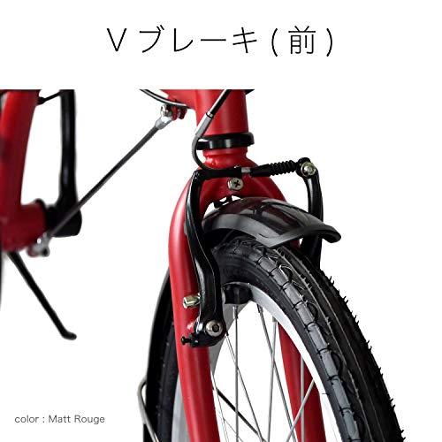 DAHON(ダホン)SUVD6インターナショナルモデルフォールディングバイク20インチ2020年モデル[外装6段変速ハイテンスチールフレーム]BAT061マットルージュ