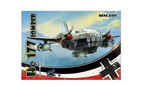 モンモデル モンキッズ He177 爆撃機 プラモデル
