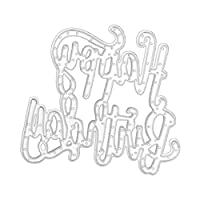 Marschao スクラップブッキング紙カード作成用のDIYカッティングダイエンボスステンシルテンプレート 手動スキルを磨く