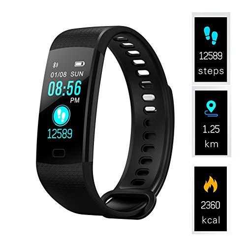 KDSFJIKUYB Smart Watch Smart Polsband Y5 Stappenteller Smart band Bloeddruk Hartslagmeter Fitness Armband Activiteitstracker Smart horloge
