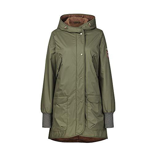 Finside W Suomukka Braun-Grün, Damen Isolationsjacke, Größe 34 - Farbe Ivy Green - Toffee