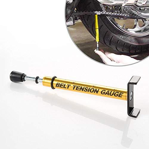 KiWAV Belt Tension Gauge - after Belt Replacement, Adjustment or Wheel Service - Universal, also for compatible for Harley-Davidson with 10-lb belt drive