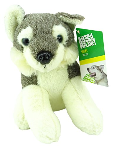 Animal Planet Animales del Ártico - 15cm Husky Soft Plush Toy