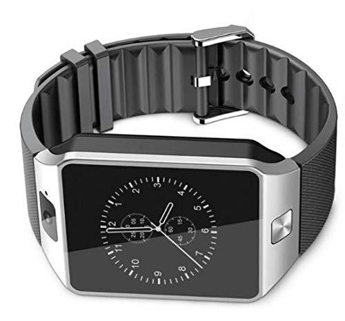Männer und Frauen Alter Mann Bluetooth Smart Watch Anruf 2G GSM SIM Tf-Karte Kamera Smart Watch,Silber
