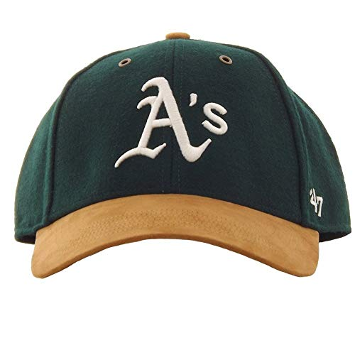 '47 Gorra Brand MLB Oakland Athletics MVP Adjustable Verde Ajustable