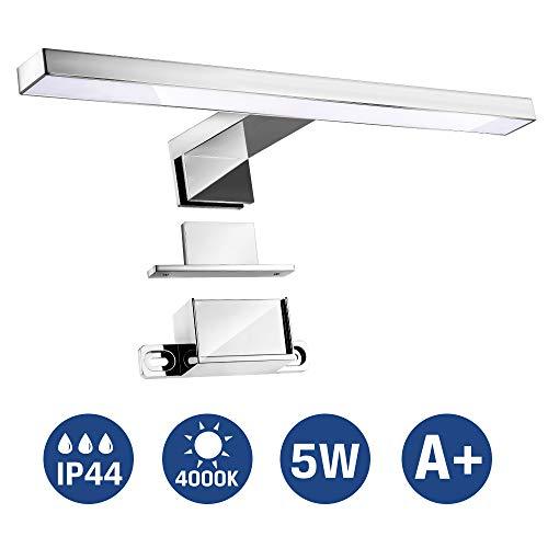 Aplique Espejo Baño, Infankey 3 en 1 Lámpara de Espejo Ba
