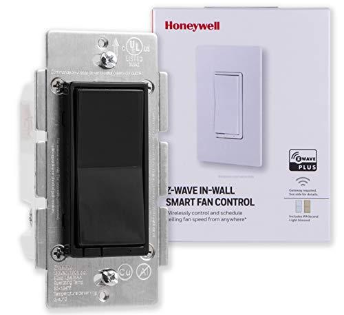 Honeywell Z-Wave Plus Smart Fan Speed Control, 3-Speed In-Wall,...