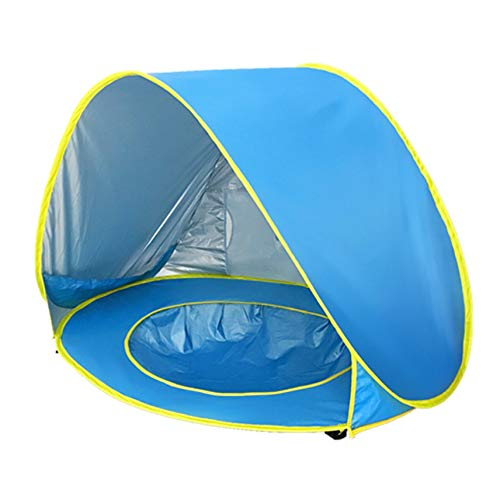 GGQT Baby Beach Zelt Pop Up Tragbares Sun Shelter Shade Zelt mit Pool