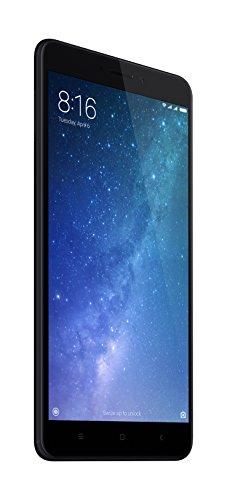 "Xiaomi Mi Max 2 - Smartphone libre 4G, WiFi, Bluetooth, Snapdragon 625 Octa Core, 64 GB ROM ampliable con microSD, 4 GB de RAM, cámara dual de 12 Mp, negro, 6.44"" - [Versión Española]"