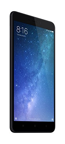 Xiaomi Mi Max 2 - Smartphone libre 4G, WiFi, Bluetooth, Snapdragon 625 Octa Core, 64 GB ROM ampliable con microSD, 4 GB de RAM, cámara dual de 12 Mp, negro, 6.44' - [Versión Española]