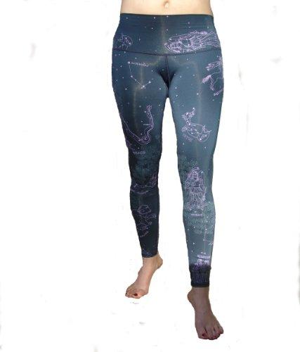 Teeki - Designer Active Wear - Star Dust Hot Pant - Age of Aquarius Line