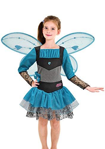 Ciao-Bloom Winx Halloween Special Edition Costume Travestimento Bambina (Taglia 4-6 Anni), Colore Nero, Blu, 11144.4-6