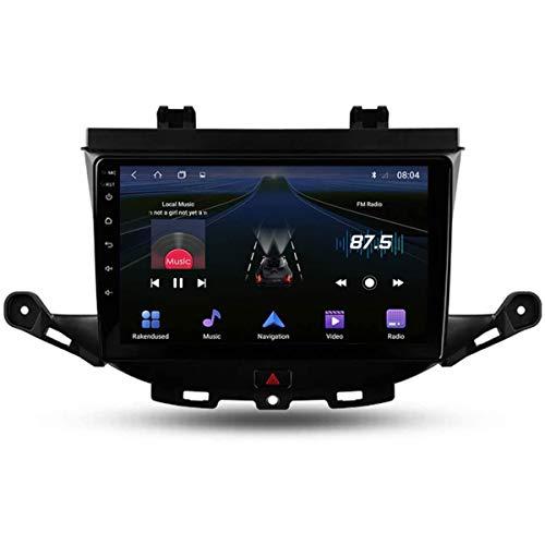 XBRMMM Touch Screen da 9 Pollici 2 DIN Android 9.1 Autoradio per Opel Astra K 2015-2019 Radio con Navigazione GPS Integrato DSP FM Supporto RDS Bluetooth/SWC/MirrorLink