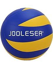 JOOLESER Voleibol de Playa de Tacto Suave, Tamaño 5 Oficial para Interiores y Exteriores