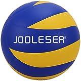 JOOLESER Voleibol de Playa de Tacto Suave, Tamaño 5 Oficial para Interiores y Exteriores (Azul)