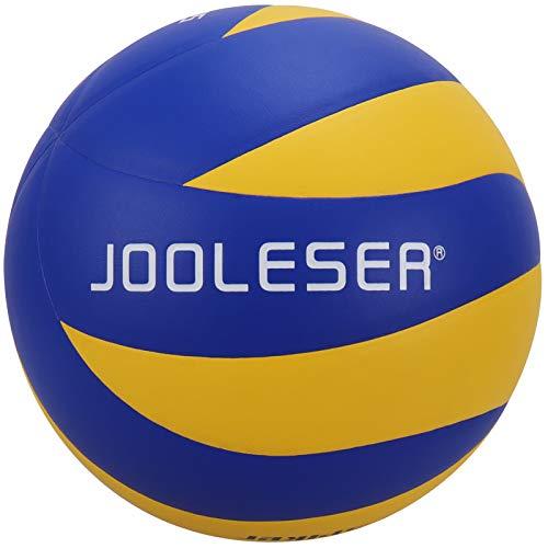 JOOLESER Pallone da Beach Volley Soft Touch, Pallavolo Ufficiale di Misura 5 per Interni ed Esterni (Blu)