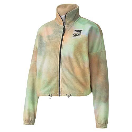 PUMA Damen Evide WINT Track Jacket Trainingsjacke, White, XL