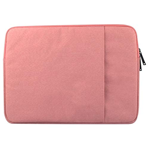 YAN Laptop Bags Portable Universal Wearable Business Inner Package Laptop Tablet Bag, 14.0 inch and Below Macbook, Samsung, for Lenovo, Sony, DELL Alienware, CHUWI, ASUS, HP(Black) ( Color : Pink )