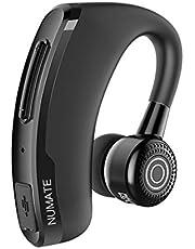 [進化版] Bluetooth ヘッドセット NUMATE ワイヤレスイヤホン bluetooth イヤホン 片耳 左右耳兼用 小型 軽量 スポーツ ビジネス 通勤 通学 車用 着信通知 ハンズフリー通話 V4.1 マイク内蔵 Android Iphone Windows PC スマートフォンに対応
