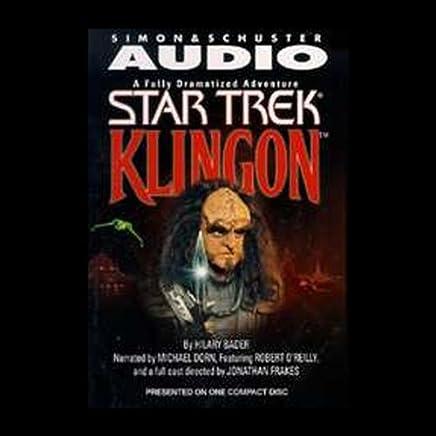 Amazoncom Star Trek Klingon Adapted Audible Audio