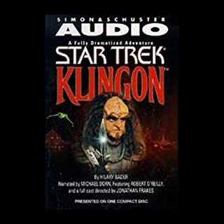 Star Trek: Klingon (Adapted)                   By:                                                                                                                                 Hilary Bader                               Narrated by:                                                                                                                                 Michael Dorn,                                                                                        Robert O'Reilly                      Length: 1 hr and 12 mins     8 ratings     Overall 3.9